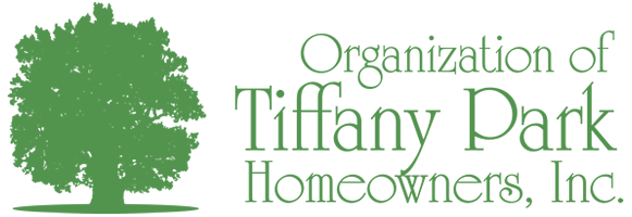Tiffany Park HOA | Home Owners Association for an upscale subdivision in Bryan Texas